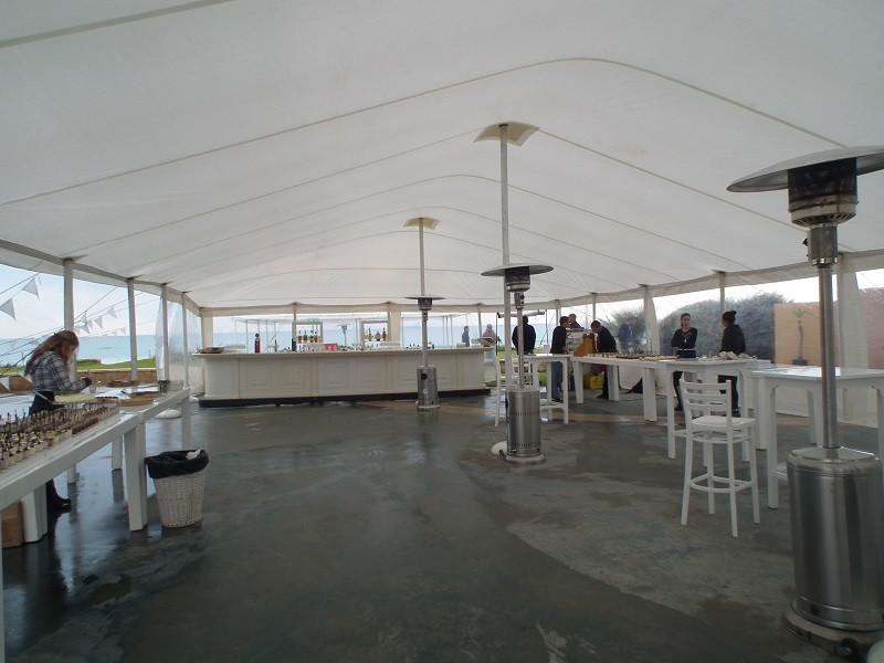 אוהל נגד גשם לחורף