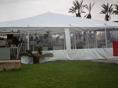 אוהל נגד גשם