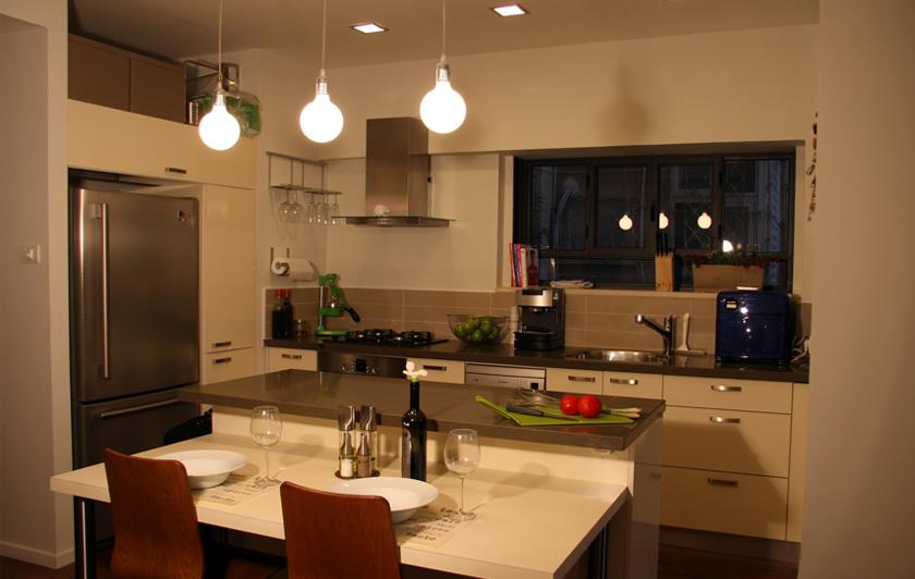 פרטים- סטודיו לאדריכלות ולעיצוב פנים, עיצוב מטבח