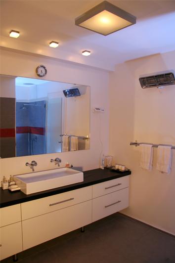 פרטים- סטודיו לאדריכלות ולעיצוב פנים, עיצוב אמבטיה