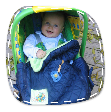 The Blanket Was Designed To Fit Easily On All Kinds Of Infant Car Seats Has Two Special Side Pockets That Open Allow Seat Vehicle