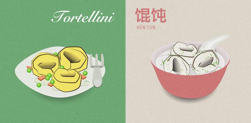 Italian food vs chinese food for Cuisine vs food