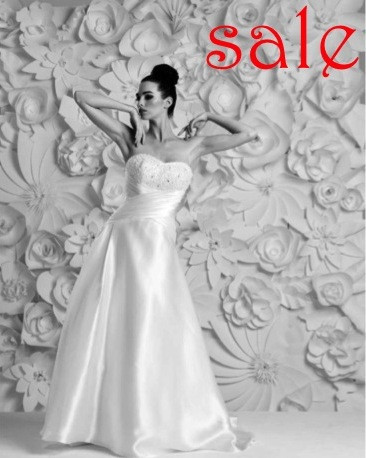 Wedding dress sample Sample Sale Mirfield at Alison Jane Bridal