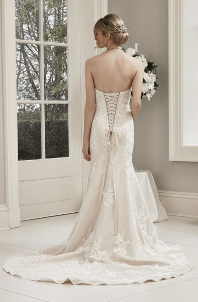 W411 Alexia designs bridal wear.