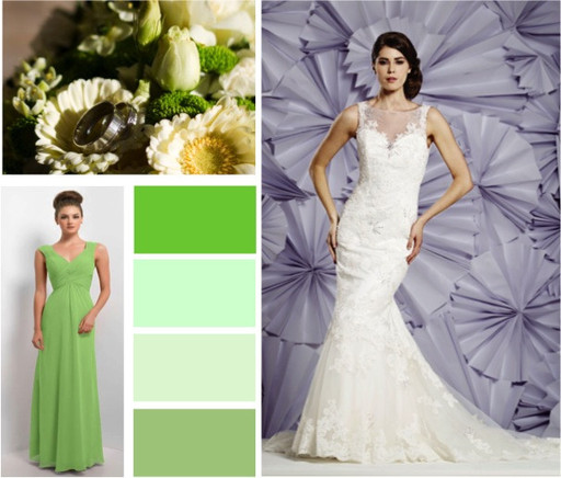 Apple green, sage & leaf & emerald wedding colours -  alisonjanebridal.co.uk Mirfield