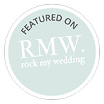 As featured on RMW styled shoot Aug2017