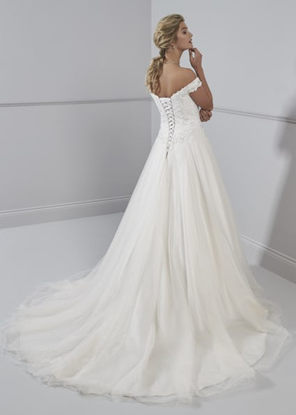 Lace and Tulle Marsha bridal gown
