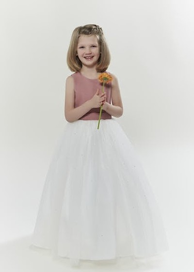 Flowergirl junior bridesmaid dress