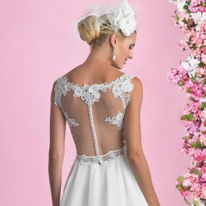 Illusion back alisonjanebridal.co.uk Mirfield