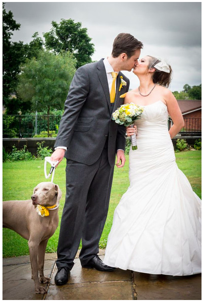 Dogs at weddings blog 008 Alison Jane Bridal