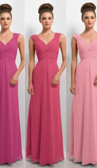All the pinks bridesmaid colour spectrum blog. alisonjanebridal.co.uk