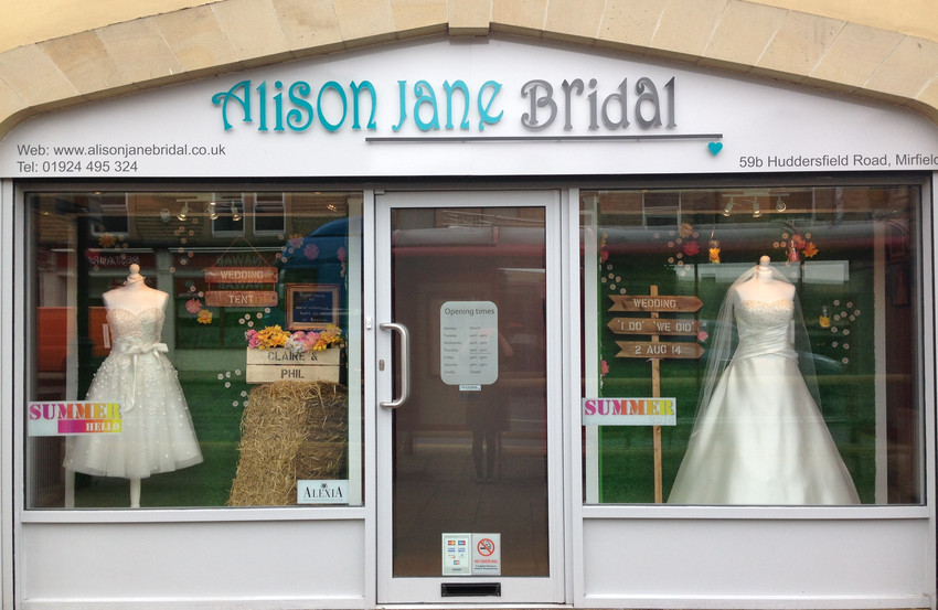 Wedding Dress Alterations Huddersfield : About us at alison jane bridal mirfield west yorkshire