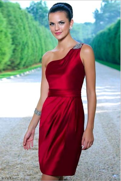 Alexia designs bridesmaid dress