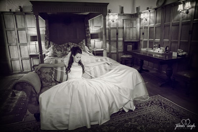 Bridal boudoir photo shoot, Jenna leigh Photography with Alison Jane Bridal - Mirfield