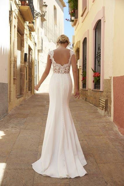 Back Katrina gown Romantica of Devon