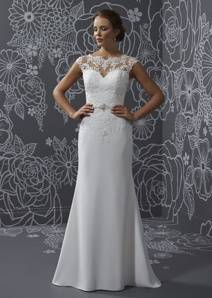 Katrina bridal gown Romantica of Devon