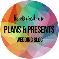 As featured on Plans & Presents styled shoot Nov2017
