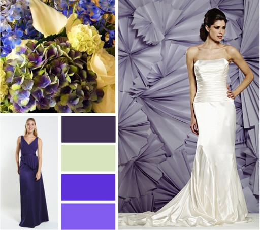 Purple, amethyst & plum pastels wedding colours -  alisonjanebridal.co.uk Mirfield