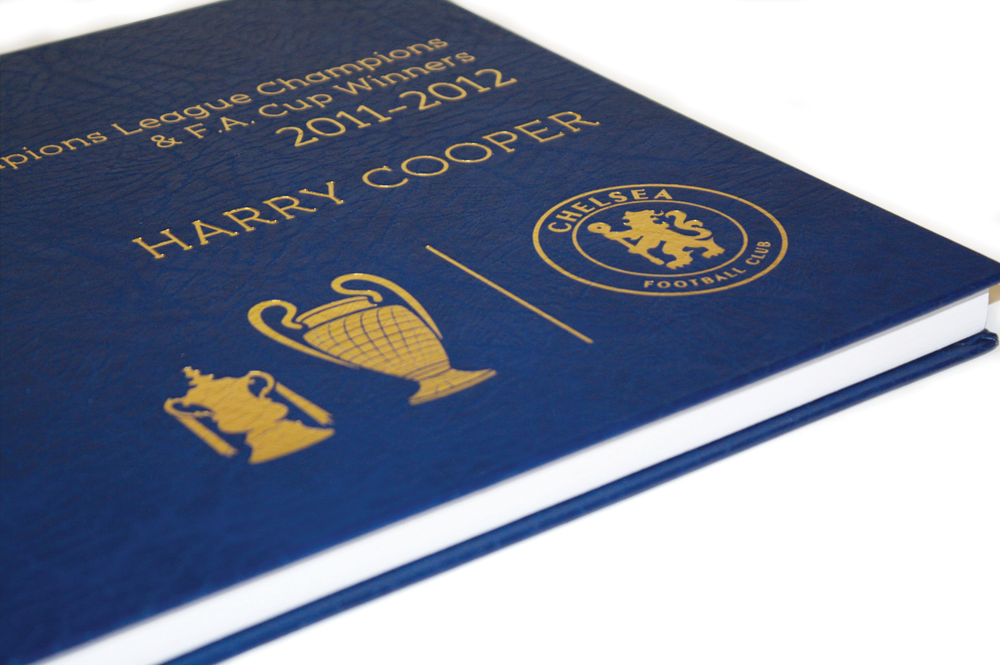 Chelsea FC Champions League & F.A. Cup Winners Book
