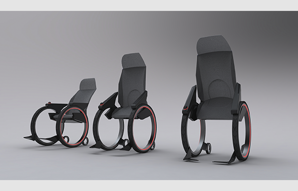 Design of a Wheelchair for elderly people