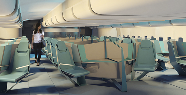 Design Concept of a Business Class Seat