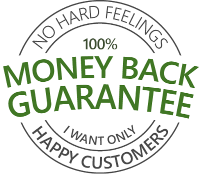 my Money-Back-Guarantee keeps unhappy customers - happy
