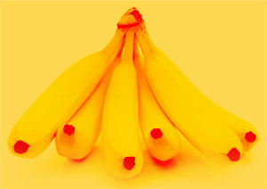 3 step (re)branding - large bunch of bananas
