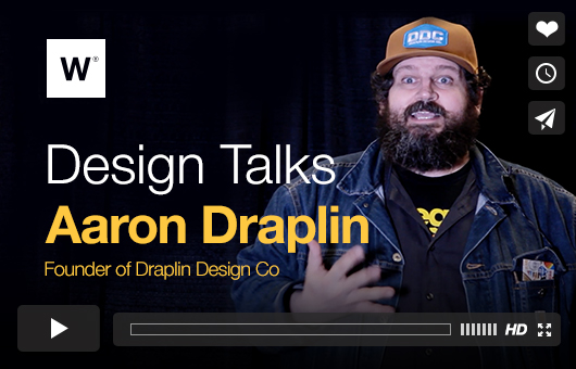 Design Talks With Aaron Draplin