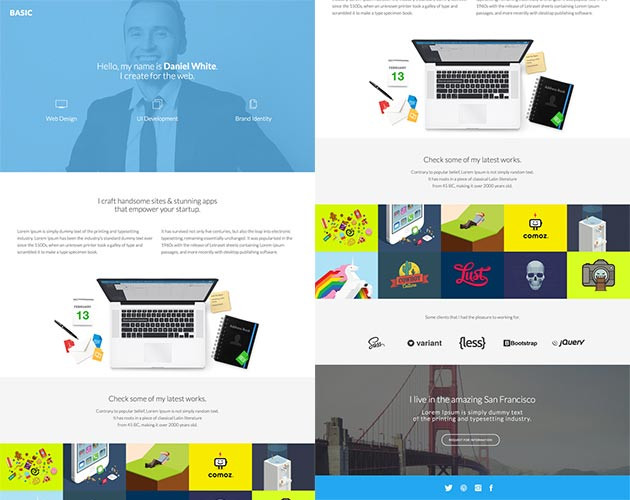 All About U Landing Page