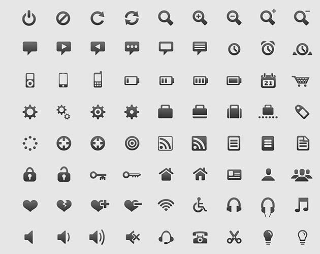 Nice 'n' Simple Icon Set