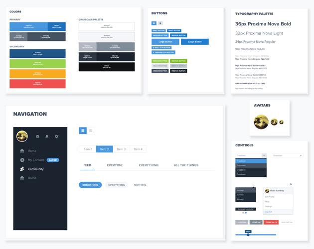 Fullscreen Creator Platform UI Kit