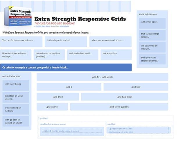 Extra Strength Responsive Grids