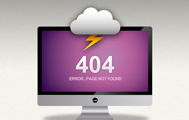 Bolt 404 Page.
