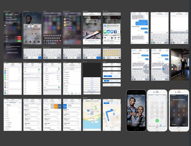 Ultimate PSD GUI Template for iOS7