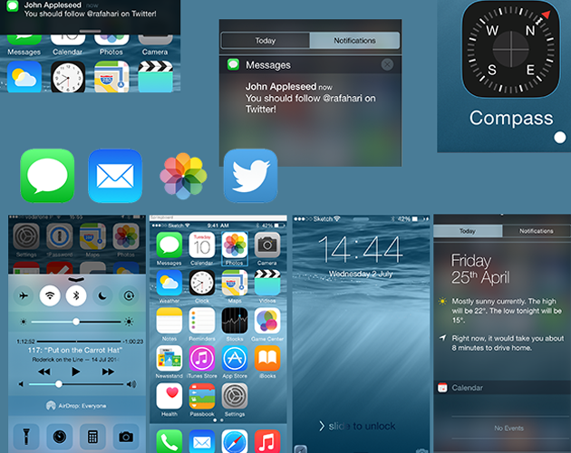 Loaded UI Kit for iOS8