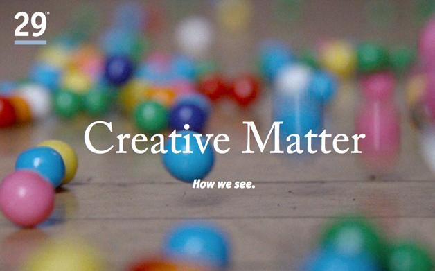 Web Design as a Creative Medium