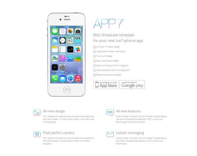 Mobile App Lander