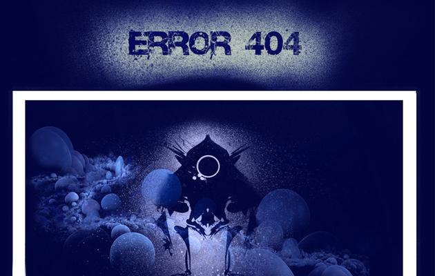 Indigo 404 Page.