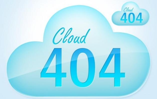 Cloud Matter 404 Page.