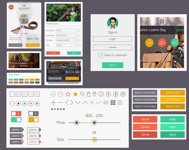 Webstore UI Kit