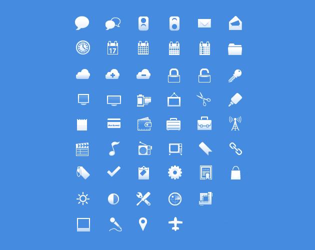 Tools 'n' Things PSD Icon Set