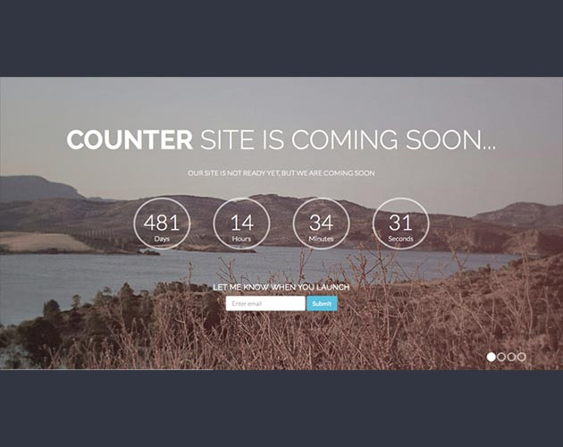 New Stock Landing Page