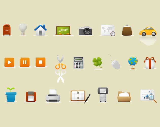 ColorVector Web Icon Set