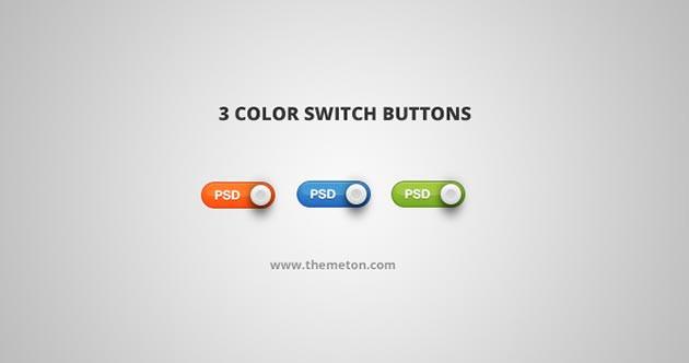Push Buttons - Color