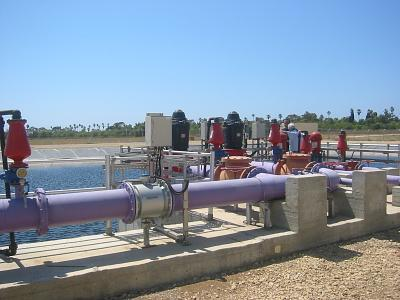 Qyriat shemona wwtp for 5150 water pipes
