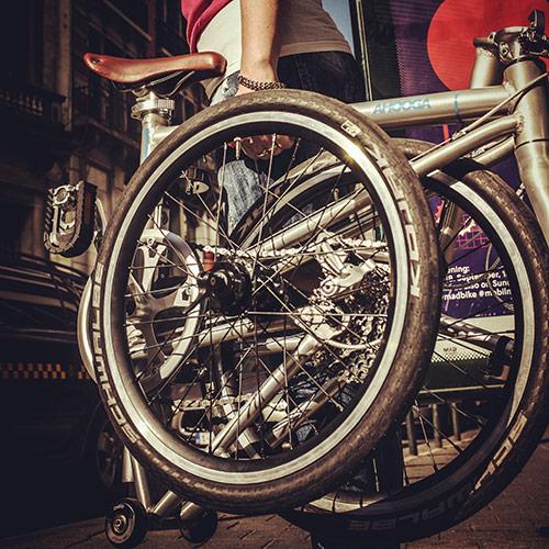 Ahooga Bike Folded