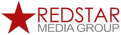 Logo for Redstar Media Group in Raleigh, NC. We offer Video and Web content and design.
