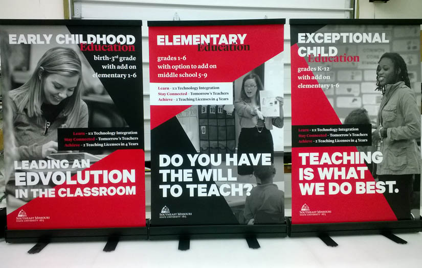 semo education banners
