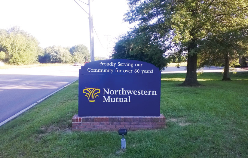 northwestern mutual sign