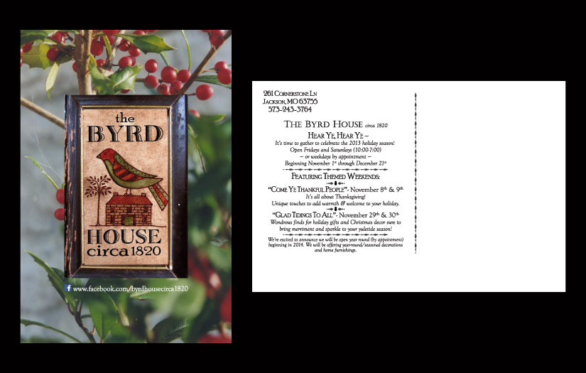 byrd house post card